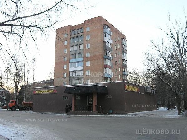 Фото г. Щелково, ул. Шмидта, дом 18 (слева— поворот на улицу Зубеева) - Щелково.ru