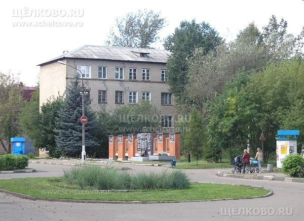 Фото г. Щелково, ул. Парковая, дом 10 (справа— поворот на улицу Зубеева) - Щелково.ru