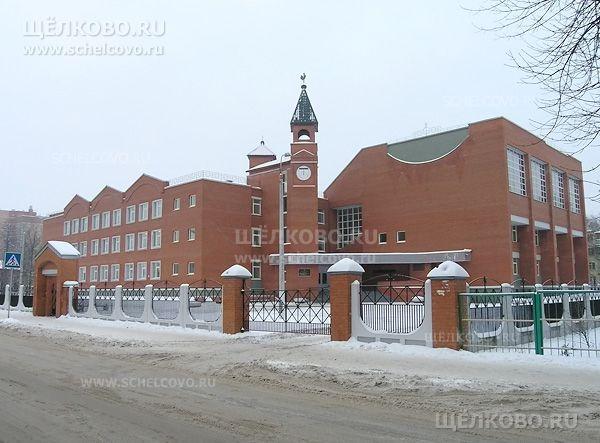 Фото школа №4 г. Щелково (ул. Центральная, д.23)— вид с улицы Зубеева - Щелково.ru
