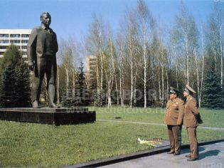 Адрес Звездный городок,  Звездный городок, памятник - 1980-е гг.