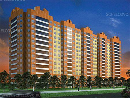 Фото первоначальный проект 15-этажного 5-секционного жилого дома на улице Центральная в Щелково (дом 71, корпус 2, микрорайон №5) - Щелково.ru