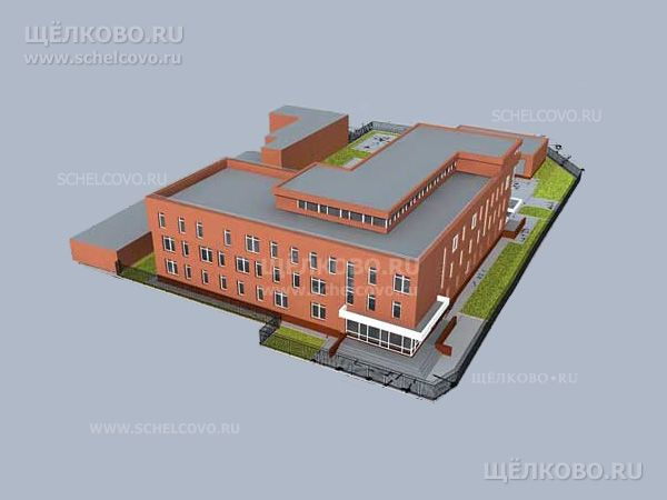 Фото проект комплекса зданий и сооружений военного комиссариата г.Щелково по ул.Свирская - Щелково.ru