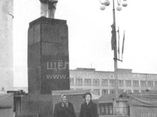Город Щелково. Улица Комарова (бывшая Ново-Советская) в 20 веке