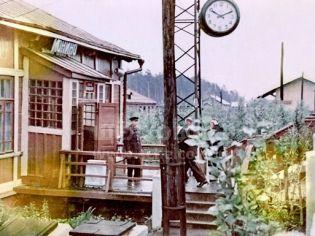 Монино (Щелковский р-н), ул. Железнодорожная, ж/д станция «Монино» - 1960-е гг.