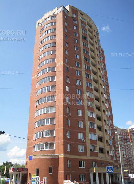 Фото г. Щелково, Пролетарский проспект, дом 4, корпус 2 (вид с улицы Краснознаменская) - Щелково.ru