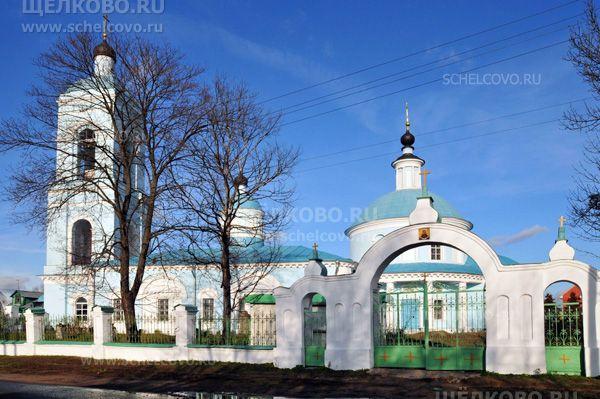 Фото храм Покрова Пресвятой Богородицы в селе Хомутово (г. Щелково) - Щелково.ru