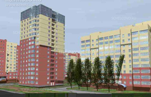 Фото проект дома 5/2 по улице Первомайская в Щелково (микрорайон «Ближний Воронок») - Щелково.ru