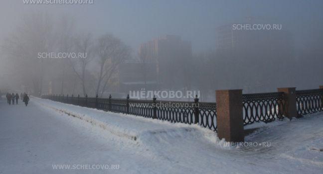 Фото на набережной в Щелково (старый мост через Клязьму) - Щелково.ru