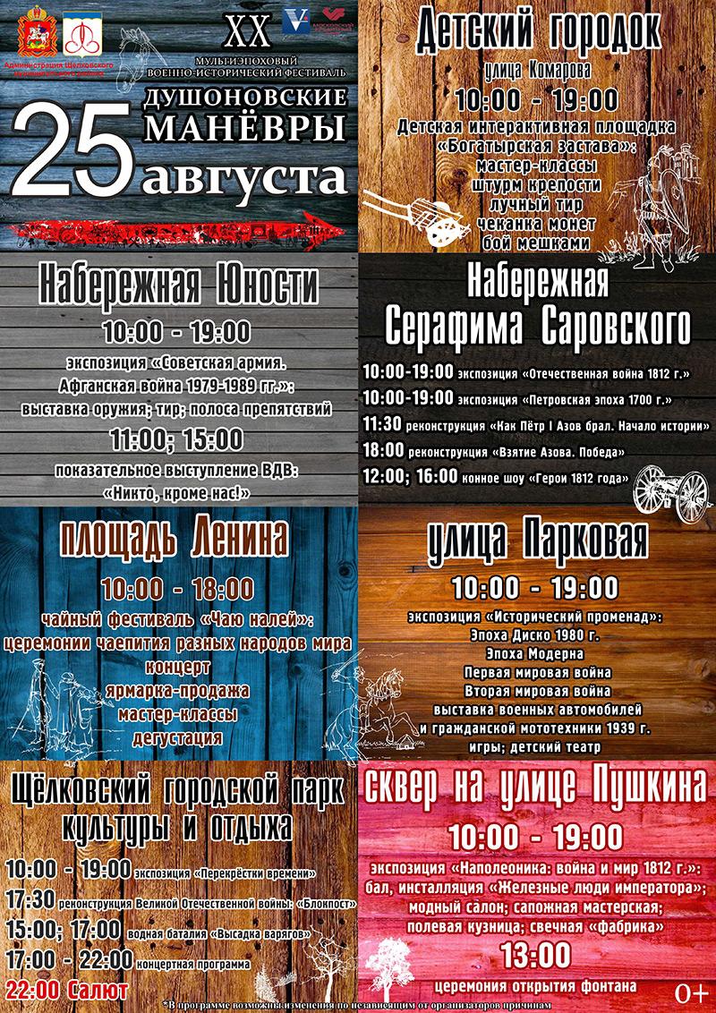 День города Щелково 2016 г.