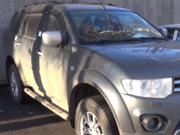 Полицейские задержали подозреваемого в краже автомобиля в Монино (видео) - Щелково