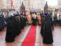 Патриарх Кирилл и губернатор Московской области Борис Громов посетили Щелково - Щелково