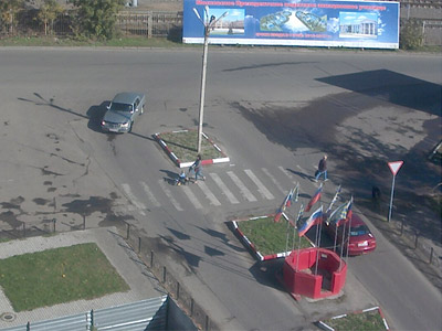 Вебкамера КПП в Монино г. Щелково